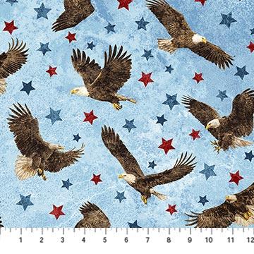 Stars and Stripes Stonehenge eagles 39436-42