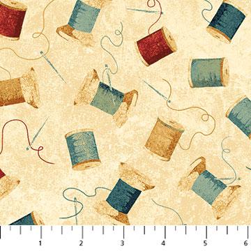 A Stitch in Time cream spools 21332-11