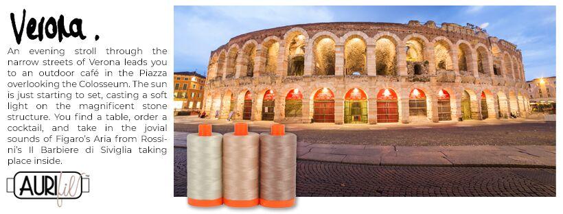 Aurifil Thread Pack Verona Mauve