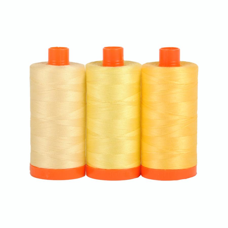 Aurifil Thread Pack Sicily Yellow