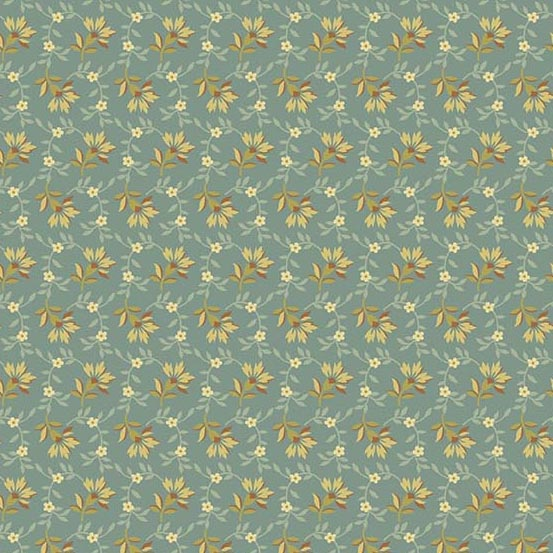 Bed of Roses 8618T Dusty Teal