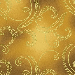 Autumn Splendor Gold Swirl 8419-33