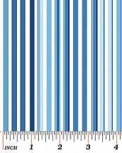 Benartex Butterfly Effect Blue Pencil Stripe 419855B