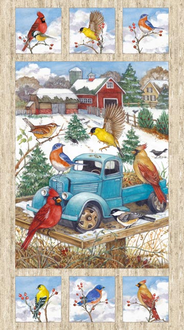 Bird Song Panel 22430-12