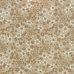 Blank Honeybell sm. cream flowers 6597