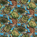 Under the Sea Turtles BTR 6436