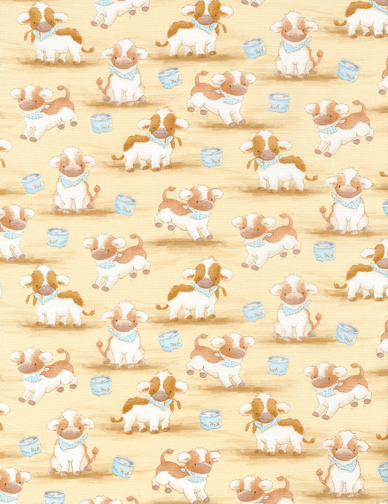 Farmyard Friends Cows 5820 tan