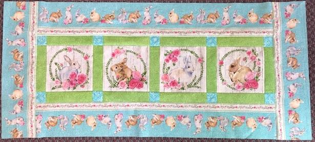 Bunny Love Table Runner Kit