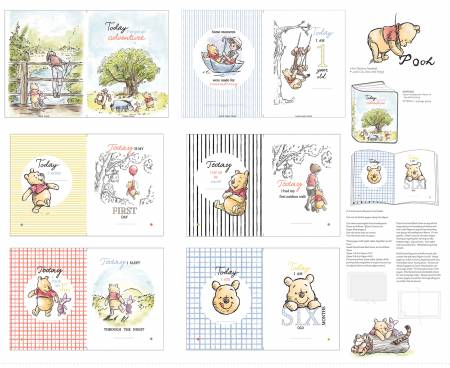 Classic Pooh Baby Book