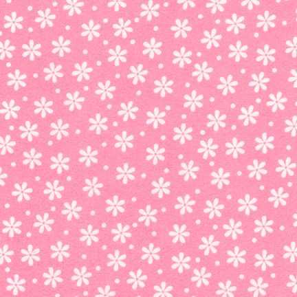 Cozy Cotton Flannel Hot pink FIN-8978-110