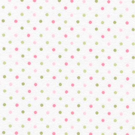 Cozy Cotton Flannel Slipper dot FIN-9255-229