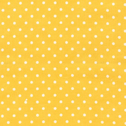 Cozy Cotton flannel yellow dot FIN-9255-5