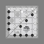 "CGR5  5 1/2"" square ruler"
