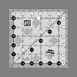 "CGR6  6 1/2"" Square Ruler"