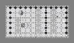 "CG 6 1/2""x 12 1/2"" ruler"