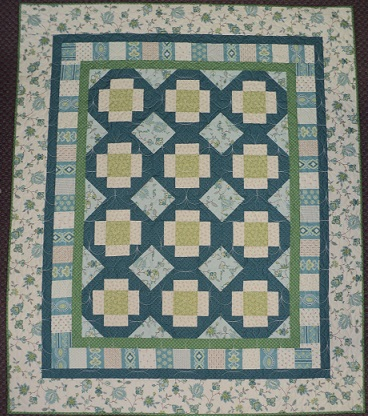 Blueberry Buckle Quilt Kit