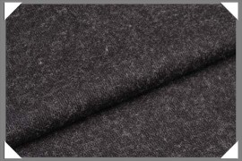 Dark Grey Wool Flannel