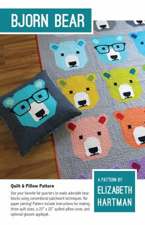 Bjorn Bear pattern EH-028