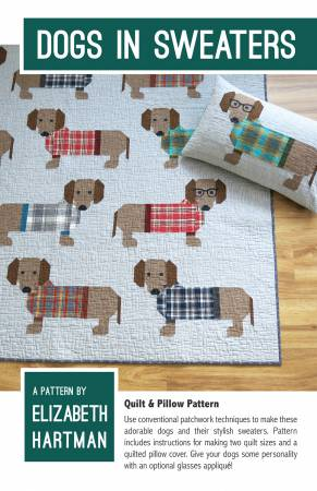 Dogs in Sweaters pattern EH-034