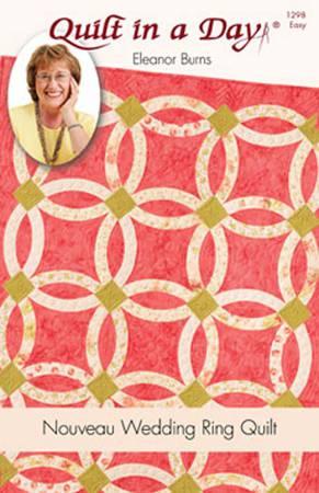 Nouveau Wedding Ring pattern by Eleanor Burns 1298