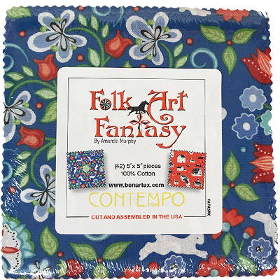 Folk Art Fantasy Charm Pack