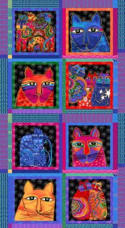 Feline Frolic Panel Y2796-55M