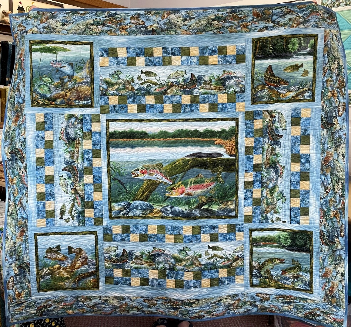 Fishin With Dad Quilt Kit