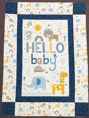 Hello Baby flannel kit boy