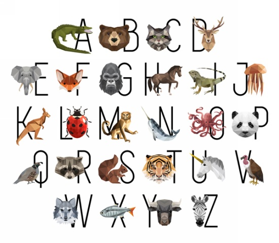 Hoffman Zookeeper Alphabet Panel Q4465-633-Prism
