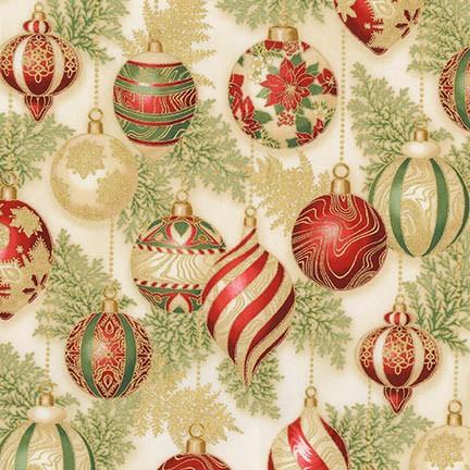 Holiday Flourish 11 ornaments APTM-17338-223