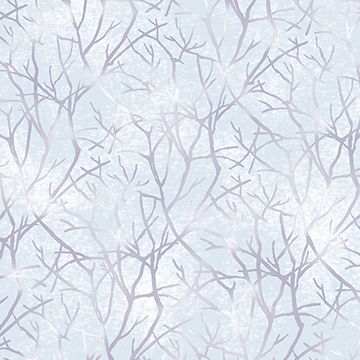 Jacqueline Branches pale chambray 26561W