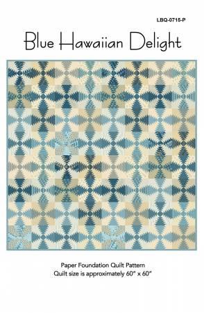 Blue Hawaiian Delight pattern LBQ 0715P
