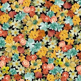 Les Fleurs, multi pack flowers 24359X