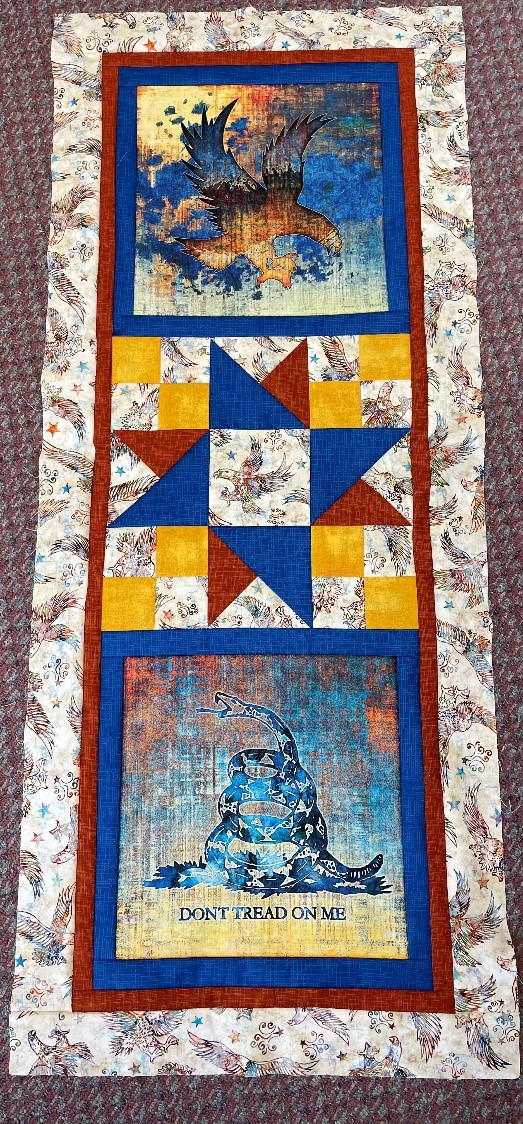 Liberty And Glory Table Runner
