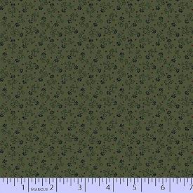 Paula Barnes Companions Antique Cotton Green 1739-0114