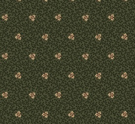 Marcus Antique Cotton Old Green Calicos 2346-0114