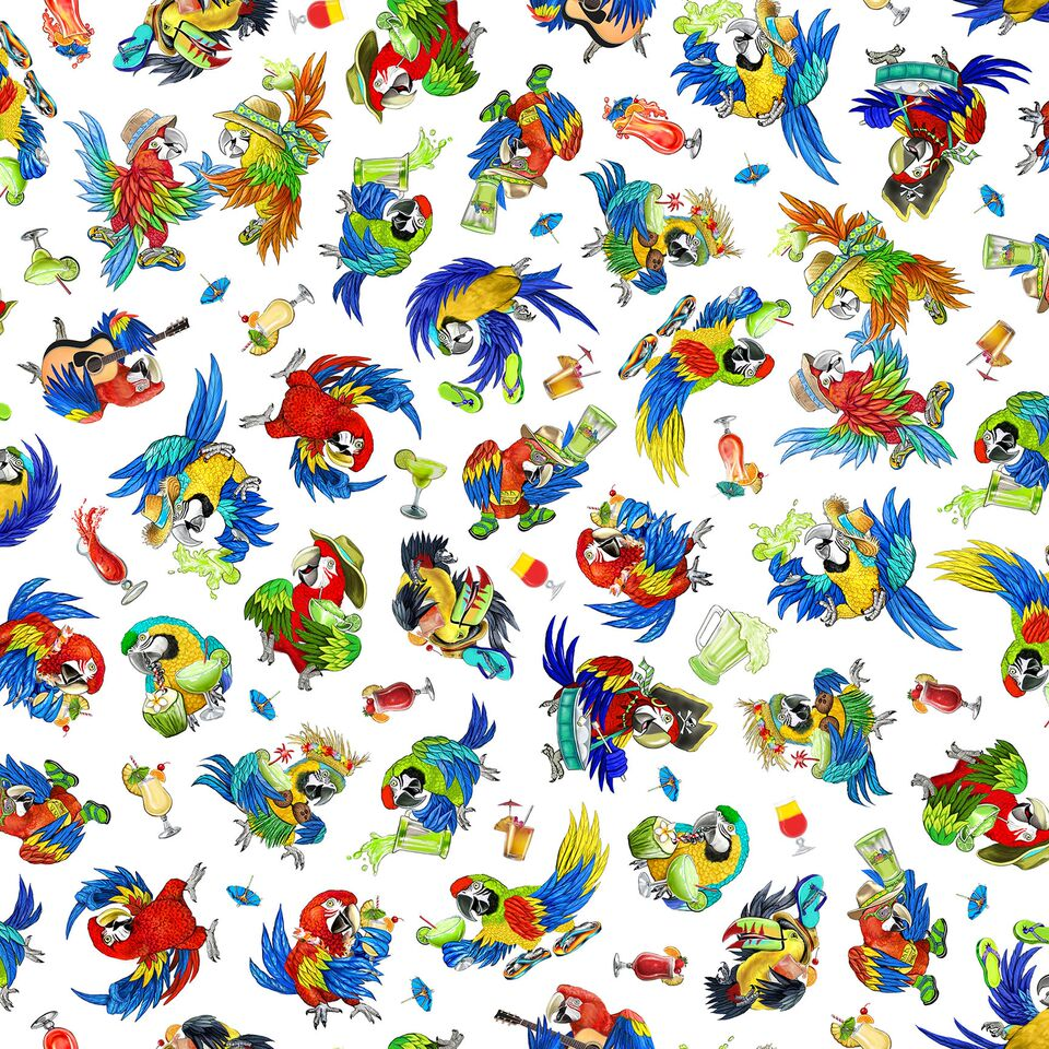 Margaritaville Parrots