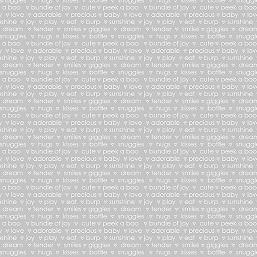 My Little Sunshine light grey words 3127-13
