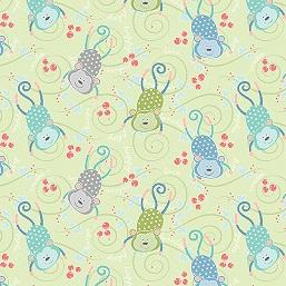 My Little Sunshine light lime monkeys 3124-40