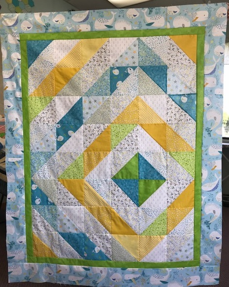 Oh Buoy! quilt kit