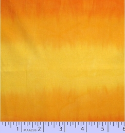 Ombre Hand Dyed Batik orange 7608-0130