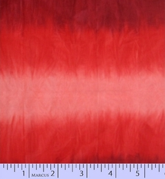 Ombre Hand Dyed Batik Red 7608-0123