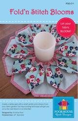 Fold and Stitch Blooms Pattern
