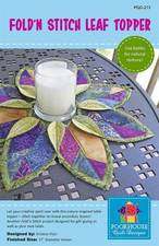 Fold and Stitch Leaf Topper PQD-213