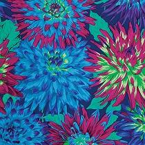 Cactus Dahlia- blue PWPJ054