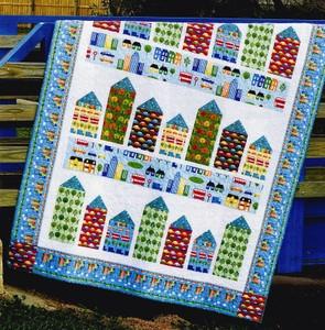 Little Town quilt pattern