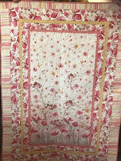 Pretty in Pink Panel Quilt