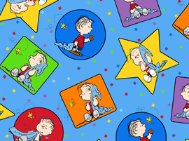 Project Linus Blue Patches 22323