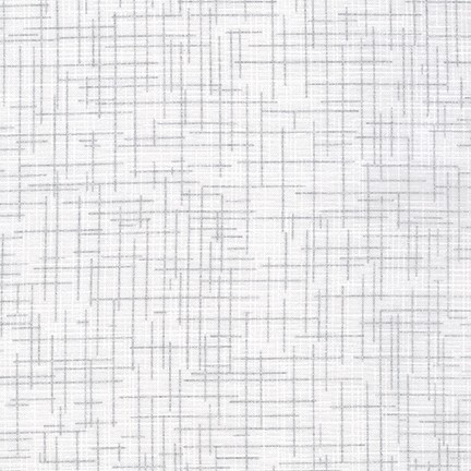 Quilters Linen metallic Blanc SRKM-14476-303