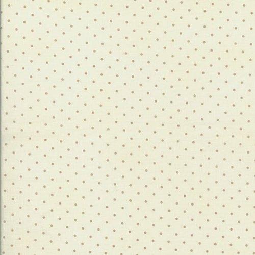 Robyn Pandolph Home Essentials cream dot 0016-046